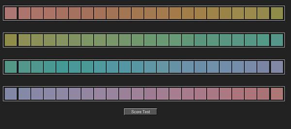 Luke Zeme Photography Colour-Test1 Are your eyes Calibrated, a FUN colour IQ test