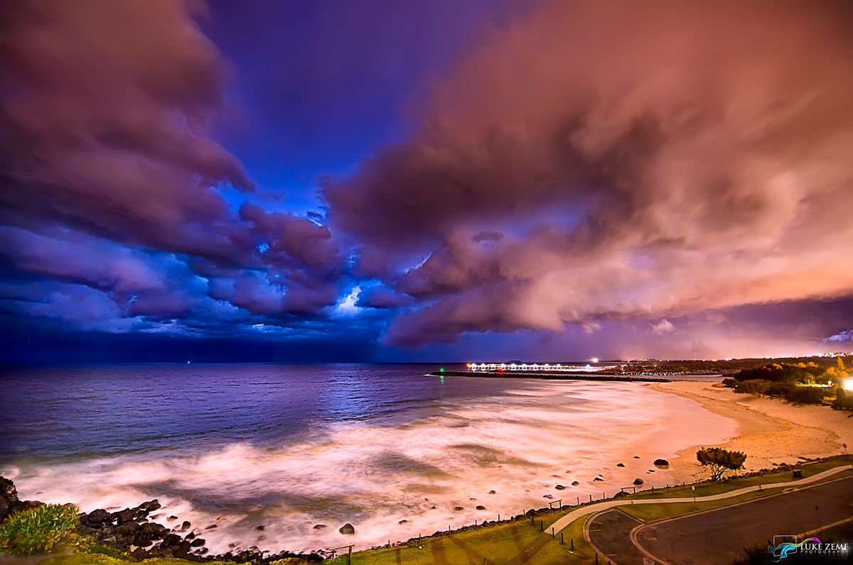 Luke Zeme Photography Supercell-at-the-Gold-Coast The Ephemeral in Landscape photography