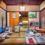 Inside-Japanese-Artist-Studio