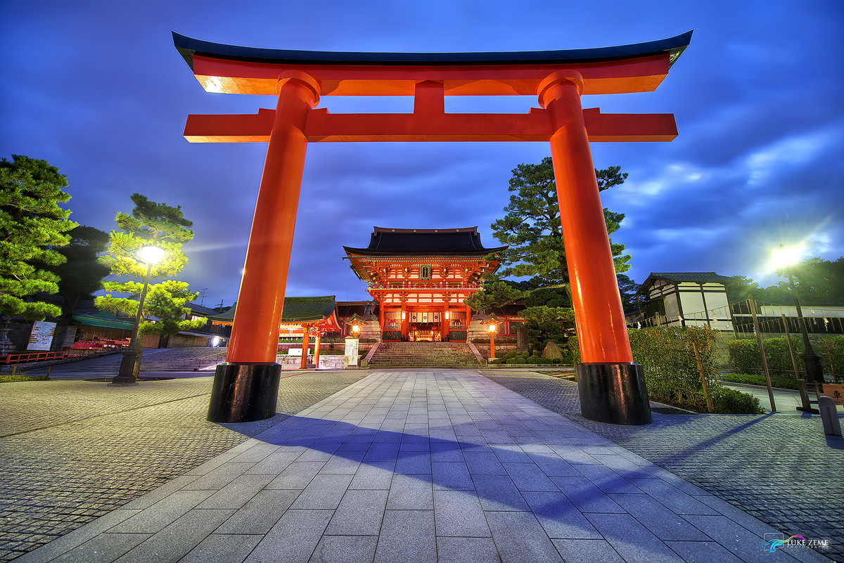 Which Of These Is A Home Office Photo Of The Day Fushimi Inari Shrine Japan Luke Zeme
