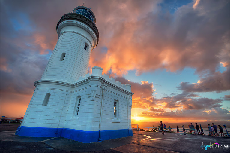 Luke Zeme Photography Byron-Lighthouse Remove Halos in HDR Photos