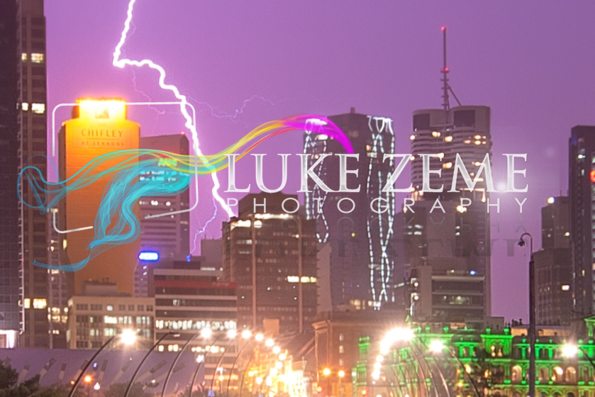 Luke Zeme Photography Lightning-strikes-once-detail PHOTO OF THE DAY- Lightning Strikes Once, Brisbane