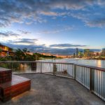 Glowing-Seat-brisbane-river-sunrise-Australia-blue-hour-landscape-photography