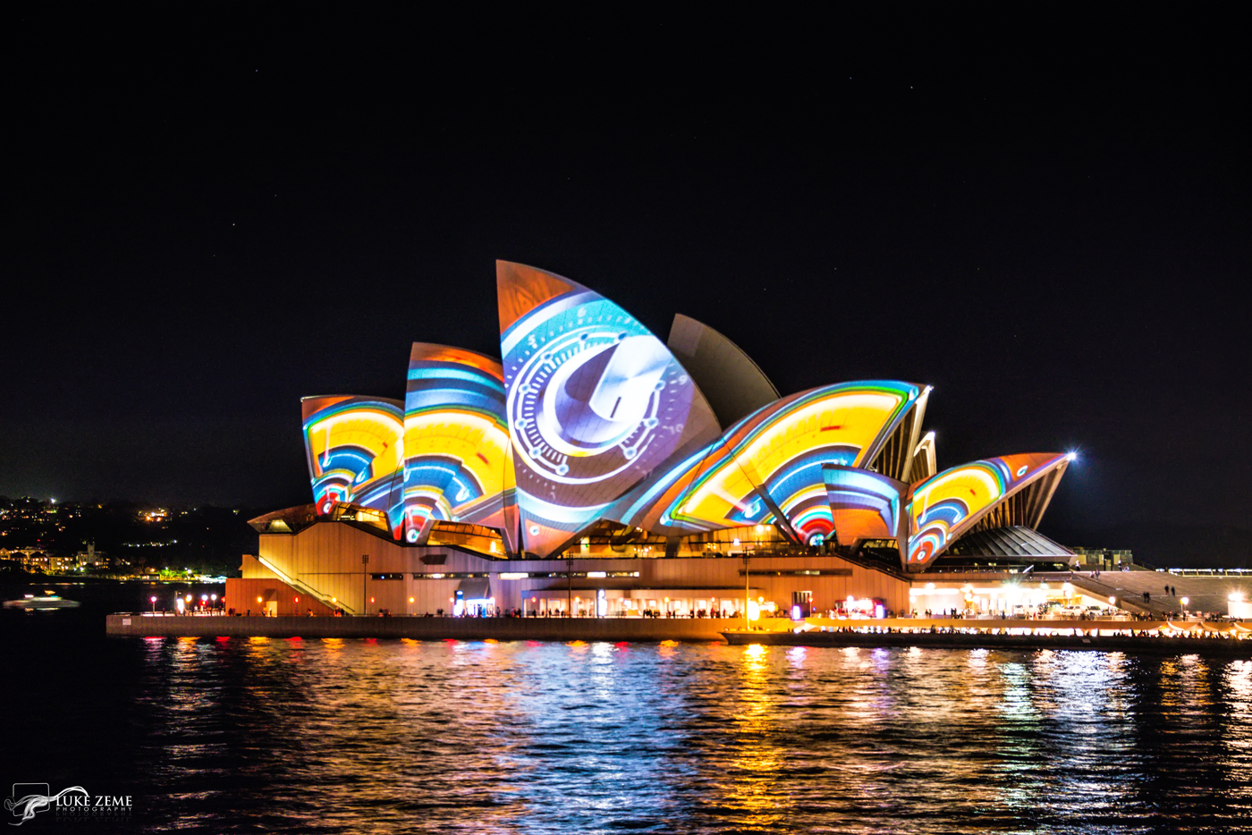 Luke Zeme Photography Faces-of-the-Opera-House-21 PHOTO OF THE DAY-Photos From Vivid Sydney- Circular Quay