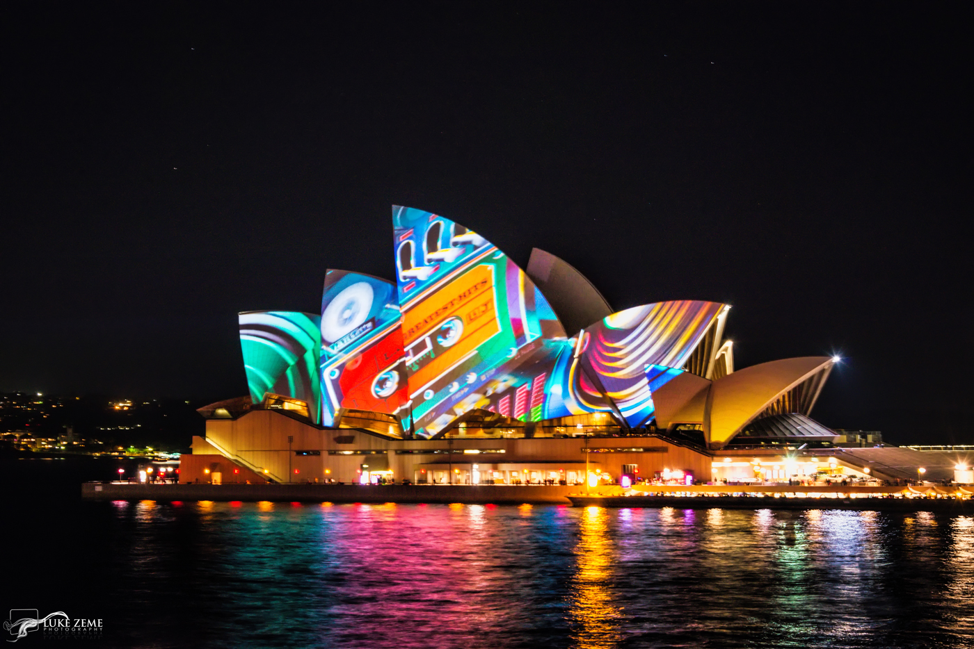 Luke Zeme Photography Faces-of-the-Opera-House-41 PHOTO OF THE DAY-Photos From Vivid Sydney- Circular Quay