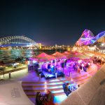 Pink-Band-at-the-Opera-House-during-the-vivid-light-festival-sydney-australia