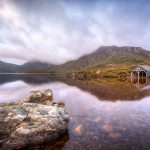 Cradle-Lake-cradle-mountain-boat-shed-tasmania-Australian-landscape-photography