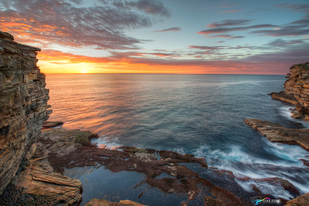 Luke Zeme Photography Sunrise-at-the-Gap How to make an HDR Photograph with a Nikon D800