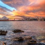 Incredible-sunset-Sydney-harbour-mrs-macquaries-chair-hdr-photography-australian-landscapes-seascapes