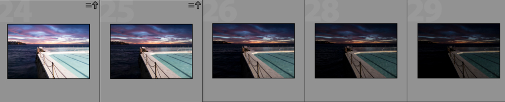 Luke Zeme Photography Iceberg-Filmstrip PHOTO OF THE DAY- Iceberg Sunrise + How I Made This HDR Photo