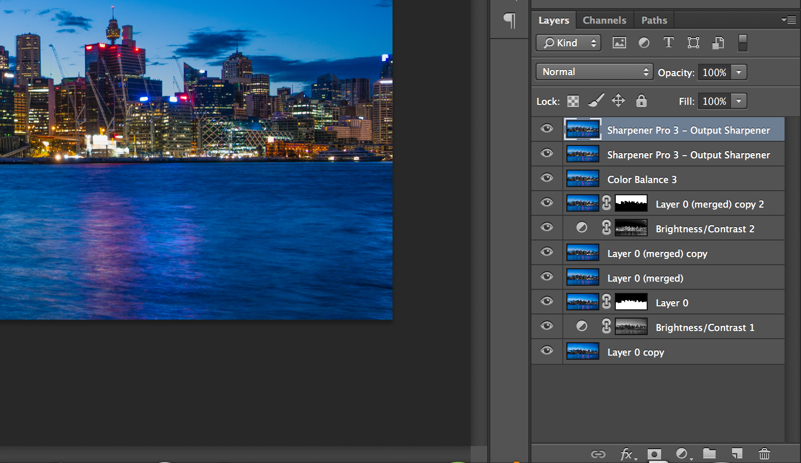 Luke Zeme Photography Layers-panel PHOTO OF THE DAY- Sydney at Dawn, Seascape
