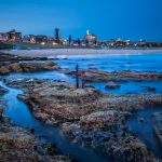 Past-&-Present-a-long-exposure-on-bondi-beach-during-blue-hour-seascape-Australia