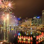 Sydney-Spectacular-fireworks-in-darling-harbour-christmas-Sydney-city-skyline-night-photography