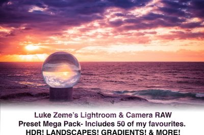 Luke Zeme Photography lukezemepresets Lightroom Preset Pack- Premium