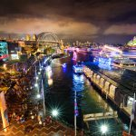 Circular-Quay-During-Vivid-amazing-lights-of-vivid-tips-and-photo-guides