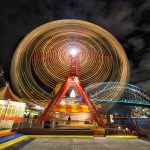 Ferris-Wheel-Sydney-Harbour-Vivid-long-exposure-of-circular-quay-from-sydney-harbour-bridge-Vivid-Tips-and-tricks