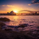 Sydney-Harbour-Silhouette-opera-house-and-Sydney-harbour-bridge-prints-photo