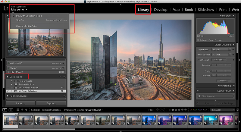 Luke Zeme Photography Mobile-Lightroom Lightroom Mobile: How to Install Presets  Luke Zeme Photography Sync-mobile-device Lightroom Mobile: How to Install Presets