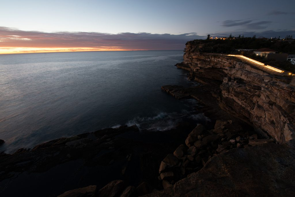 Luke Zeme Photography Sydney-Sunrise-The-Gap-Before-HDR-1024x683 HDR Before & After- The Gap, Sydney Sunrise