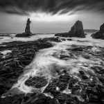 Islands-of-Hope-black-and-white-sydney-seascape-print-hdr-australia