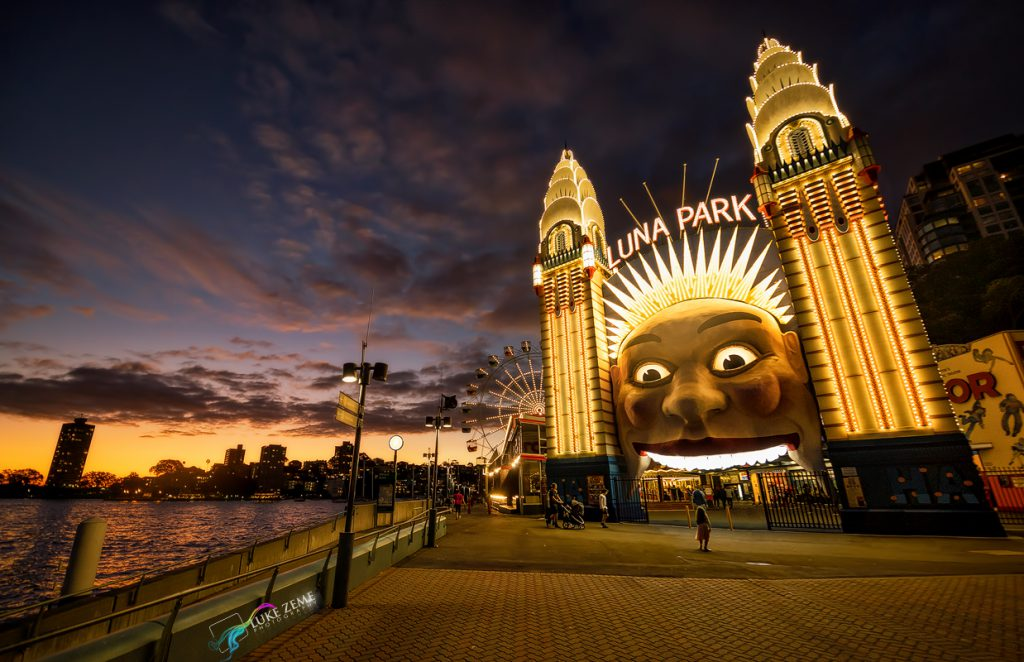 Luke Zeme Photography Girl-at-Luna-Park-1024x662 10 best images of 2015