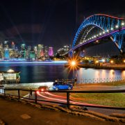 PHOTO OF THE DAY- Vivid Sydney Skyline 2017