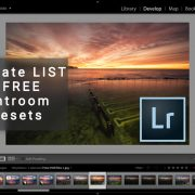 Ultimate LIST of FREE Lightroom Presets